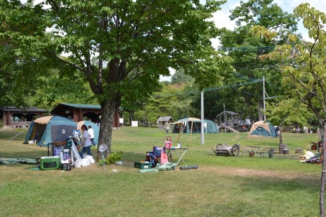 場 当麻 キャンプ
